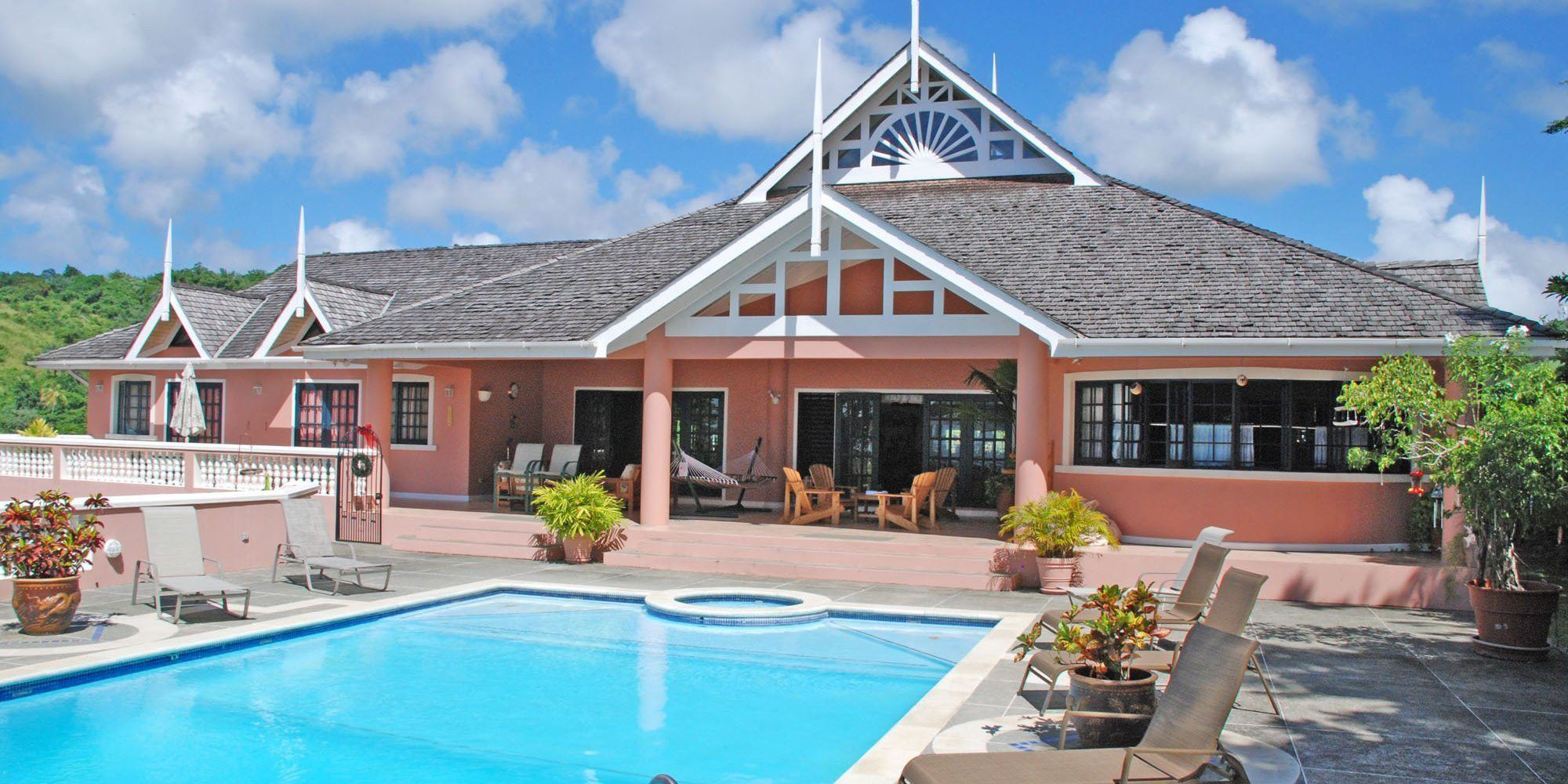 Sol Y Mar Villa Tobago Exquisite Luxury Al 5 Bedrooms View Of Beaches Sea